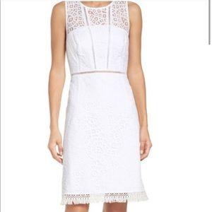 Lilly Pulitzer White Lace Simona Lace Dress Sz 4